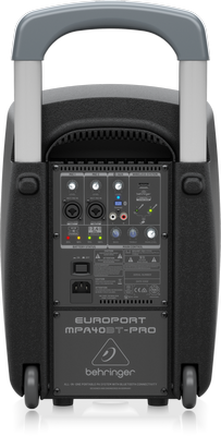 Behringer EUROPORT MPA40BT-PRO Bluetooth PA System and XM8500 Microphone Bundle