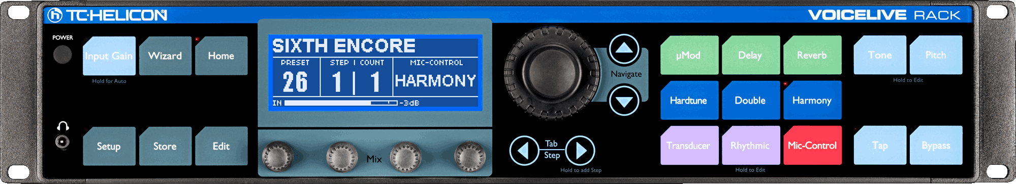 tc helicon product voicelive rack
