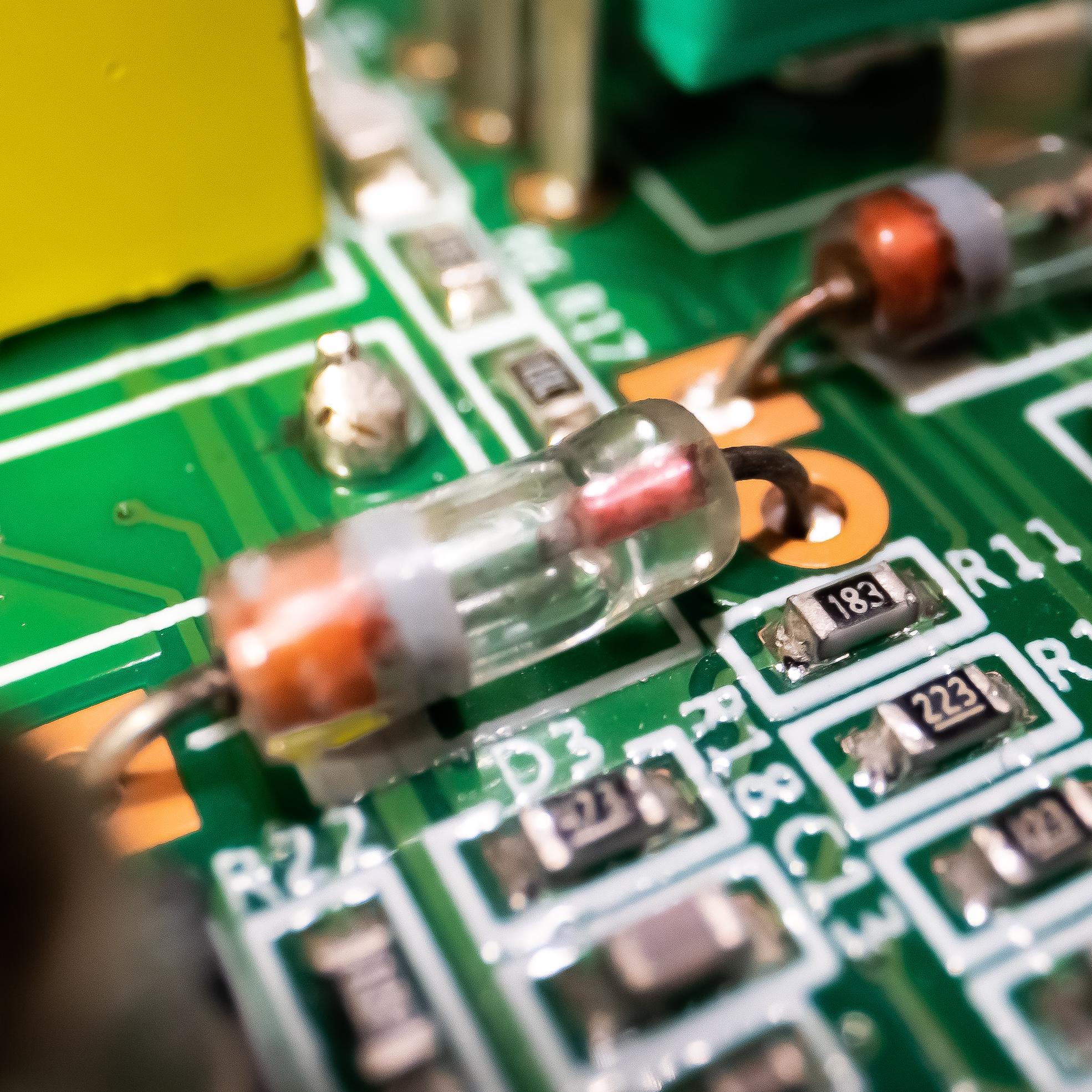 Germanium Powered Analog Circuitry