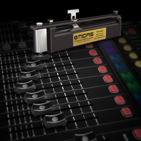 The MIDAS PRO FADER – Rated for 1 Million Life Cycles