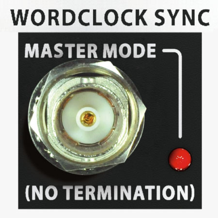 More Options - Including Word Clock