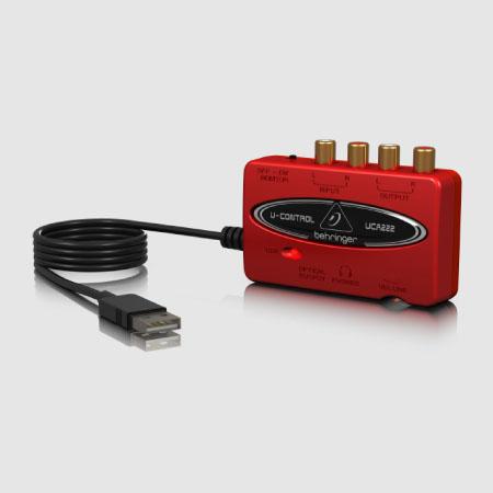 UCA222 USB Audio Interface