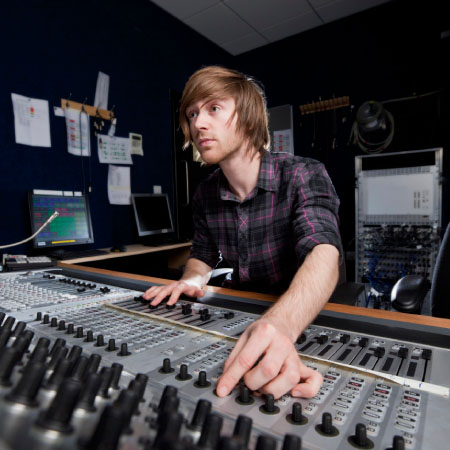 Stunning in the Studio