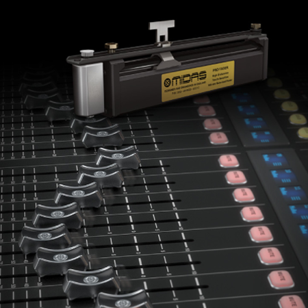 The Midas PRO FADER- Rated for 1 Million Life Cycles