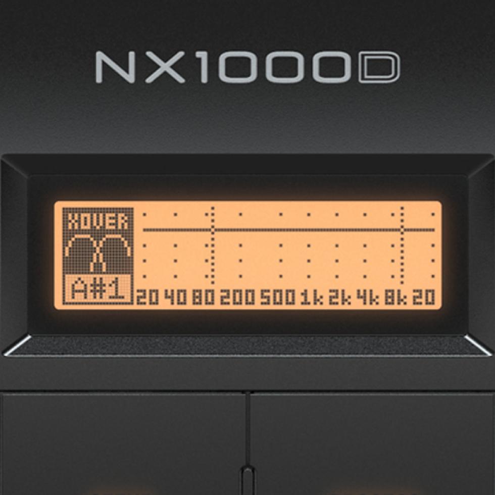 Ampli Behringer NX1000D 1000W 2 kênh có DSP - hayaudio.com