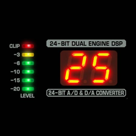 Built-in Digital Multi-FX Processor