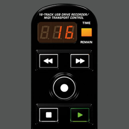 Buit-in 16-Track Recorder