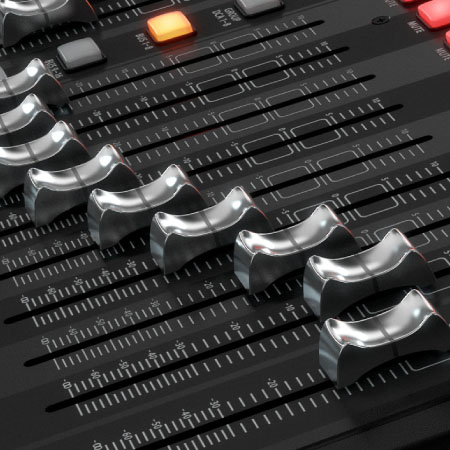 Motorized Faders