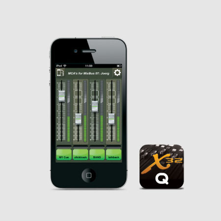 X32-Q for iPhone & iPod touch