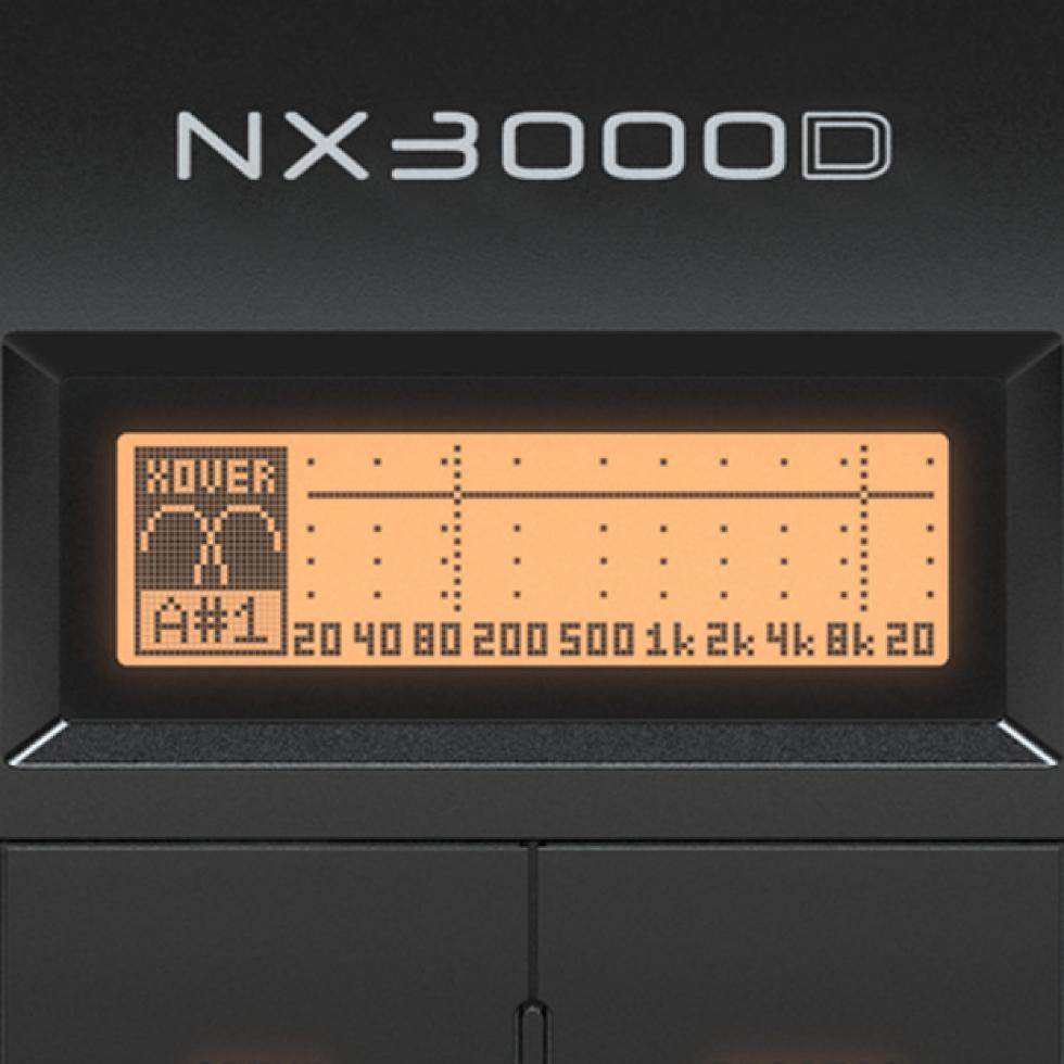 Ampli Behringer NX3000D 3000W 2 kênh có DSP