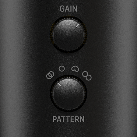 4 Pickup Modes to Suit Versatile Recording Environments