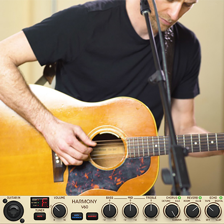 Immersive Guitar Sound