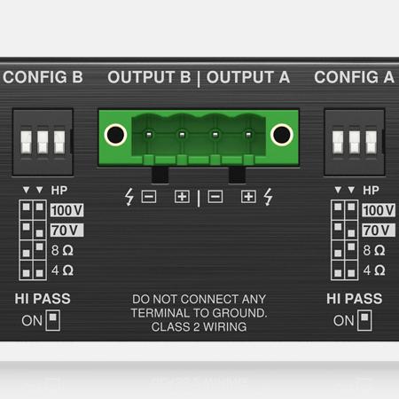 Output Configuration