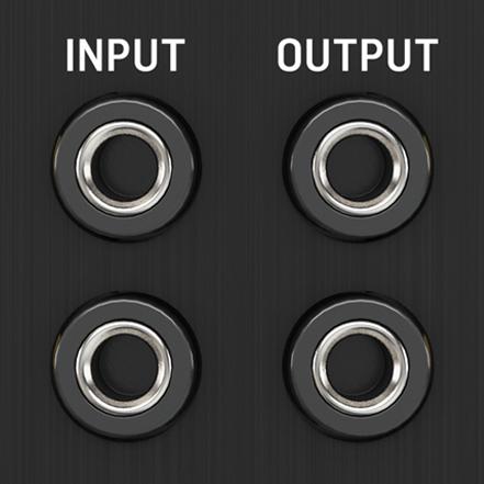 Dual Input and Output Jacks